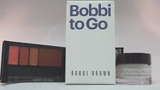 BOBBI TO GO HYDRATING FACE CREAM & ROSE LIP PALETTE - NEW - BOXED