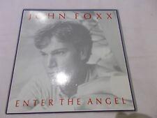 "JOHN FOXX - ENTER THE ANGEL / STAIRWAY - UK 7"" P/S VINYL - ULTRAVOX - SYNTH"