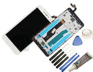 Display Für Xiaomi Redmi Note 4X Komplettes Bildschirm Lcd Touch Weiß Rahmen+