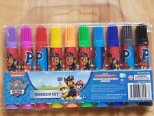 Paw Patrol Markers Texters 10 pack Activity Set