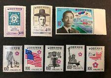 South Korea #454-5,844,1034-38 MNH