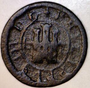 1600's PIRATE Era Spanish Colonial Treasure ' Lion & Castle ' Coin NICE LOT  NR