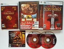 Age of Conan: Hyborian Adventures (PC, DVD, 2008) COMPLETE VIDEO GAME ORIGINAL
