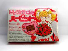80s Retro Bandai LCD Game Watch My Birthday Herpit Boxed MIJ 1988 NEW NEUF