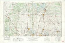 (3) 1977 Sherman, Dallas & Tyler, TX vintage 1:250000 USGS Topo Map originals