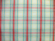 4m Prestigious Country Check Linen Cotton Fabric Curtain Upholstery Quilting