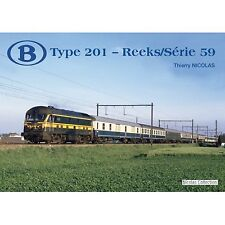 NicolasCollection 978-2-930748-30-6 BUCH SNCB NMBS Type201-Reeks/Série59 Neu+OVP