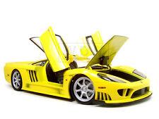 SALEEN S7 TWIN TURBO YELLOW 1:12 DIECAST MODEL CAR BY MOTORMAX 73005