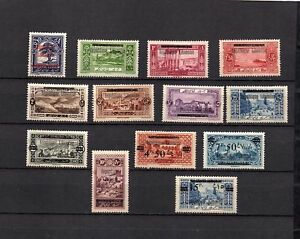 LIBAN - FRANCE COLONIES - DEFINITIVE OVERPRINTED MH SET OF STAMPS  LOT (LEB 601)