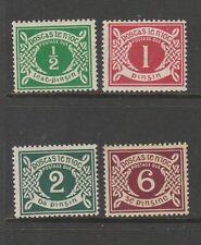 Ireland postage Dues 1925 Set UM/MM SG D1/4
