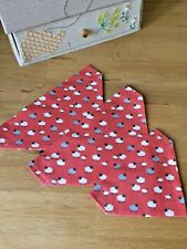 Dog/Doggy/Puppy Bandana Easter Lambs (slide on collar)