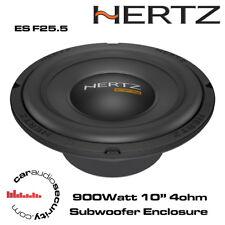 "Hertz Energy ES F25.5 10"" 900Watt Flat Subwoofer"