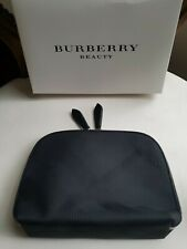Burberry Beauty Makeup Bag Pouch Black New