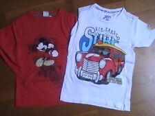 2 T-shirts garçons 6 ans