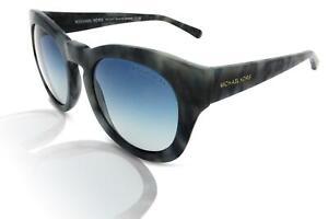 Michael Kors MK2037 Sommer Breeze Damen Sonnenbrille 32094L Blau Marmor/Blau