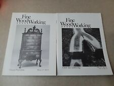 Vintage 2 Fine Woodworking Soft Cover Issues 1977