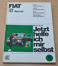 FIAT 125 125 Special Kupplung Motor Vergaser Bremsen Reparaturanleitung JHIMS 30