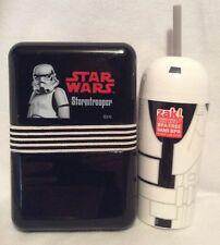 Star Wars - Lunchbox & Cup - Stormtrooper - Brand New