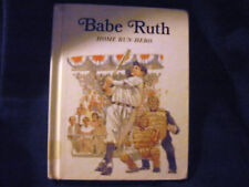BABE RUTH Home Run Hero KEITH BRANDT 1986 Hardcover *