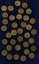 MEXICO ESTADOS UNIDOS  1955-1959  10 CENTAVOS COINS, GROUP LOT OF (35)!