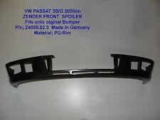 VW Passat 3BG GENUINE ZENDER FRONT BUMPER ADD-ON LIP SPOILER 01-05 VOLKSWAGEN