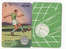 JSCARDS CELTIC CARD -PEPYS GOAL CARD GAME 1960'S?