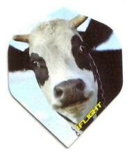 """Ruthless Invincible Extra Strong Dart Flights """"Curious Cow"""""""