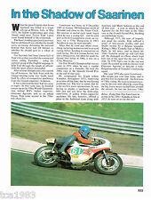 vintage TEPI LANSIVUORI MOTORCYCLE Racing Article / Photo / Picture