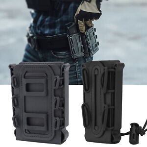 Tactical Molle Magazine Pouch for 5.56 7.62 9mm Rifle Pistol Magazine Holder Mag