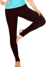 Womens Compression Lowrise Leggings Brazilian Supplex Yoga Athletic XS-S 0-2-4