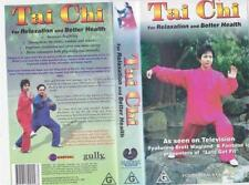 Tai Chi Exercise & Fitness PAL VHS Movies