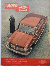 Auto Motor Sport 1/1958, Test: Borgward 2400 Pullman, Mercedes 219,