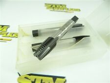 """PACK OF 3 NEW!!! NACHI HSSEV 3 FLUTE SPIRAL POINT TAPS 5/8""""-11NC"""