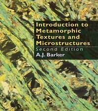 Introduction to Metamorphic Textures and Microstructures-ExLibrary