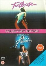Footloose / Flashdance 1984 DVD Kevin Bacon Lori Singer Adrian New and Sealed