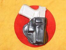 Glock 43  paddle holster leather black