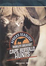 World's Greatest Cape Buffalo Hunts - African Hunting DVD