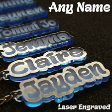 Personalised Name Keyring for sale | eBay