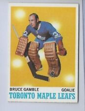 1970 TOPPS # 105 BRUCE GAMBLE NICE CARD
