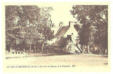 CPA 22 - ILE DE BREHAT (Côtes d'Armor) - 24. Un coin du Bourg et la Chapelle AB