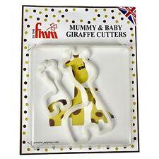 FMM Giraffe Animal Mummy & Baby Sugarcraft Cake Fondant Icing Cutter Set 2 Sizes