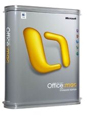 Microsoft Office 2004 Mac Standard Edition New Retail Boxed Factory Sealed UK