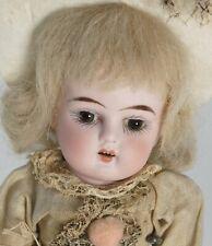 "Antique Heubach 8.5"" Doll German Bisque Head Composition Body"