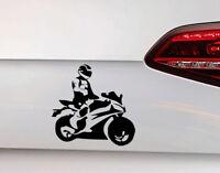 Motorrad Auto Aufkleber Biker Sticker Motorsport Motorcycle Biker inside JDM OEM