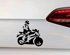 Moto Voiture Autocollant Biker Sticker Moteur Sport Motorcycle Biker Inside JDM OEM