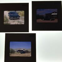 Vintage 35mm Color Slides Of A 60's Muscle Car Lot Of 3