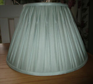Laura Ashley Duck Egg Blue Large Pleated Lampshade