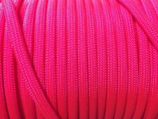 550 Paracord Type III 7 Strand Parachute Cord 10,25,50,100 ft USA Made