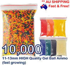 11-13MM GEL BALL GUN AMMO AU GEL BALL GUNS BULLETS GEL BALL BLASTER AMMO ORBEEZ