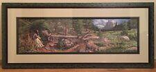 """Bev Doolittle- 1997 """"Music in the Wind"""" S/N Ltd Ed framed print w/COA is mint!"""